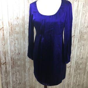 INC NWT Purple Long Sleeve Dress
